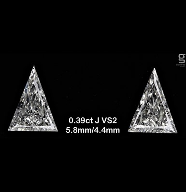 Paired Arrows - 0.39 ct