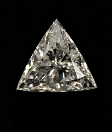 0.91 CT triangle diamond