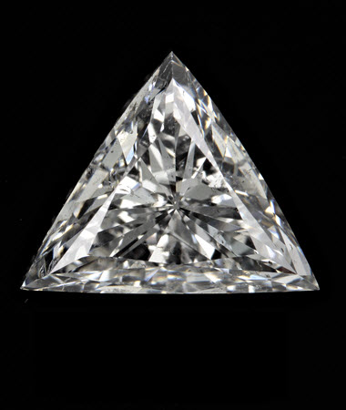 1.85 CT triangle diamond