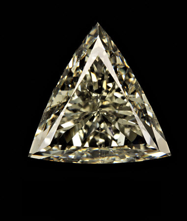 3.18 CT triangle diamond