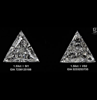 1.5CT GIA Diamond Pair