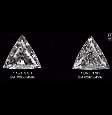 Astonishing Triangle Diamonds