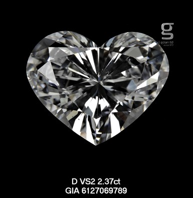 Heart Shaped GIA Diamond