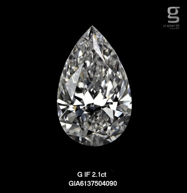 GIA Pear Shaped Diamond