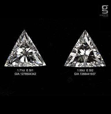 Unique Triangle Pair Diamonds